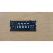 Посткарта для ноутбуков Asus DDR234 в слоты памяти DDR2 DDR3 DDR4