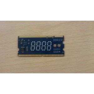 Посткарта Asus в слоты памяти DDR2 DDR3 DDR4