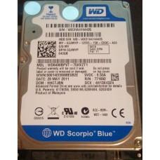 """HDD 2.5"""" WD WD6400BPVT-75HXZT1 640GB SATA"""