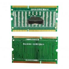 Тестер слотов памяти DDR3 плат для ноутбуков