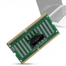 Тестер слотов памяти DDR4 плат для ноутбуков