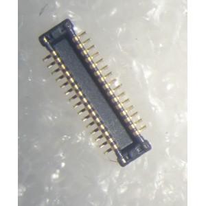 Коннектор разъем 30 pin шаг 0.4mm папа