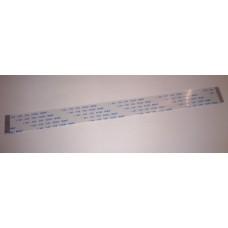 Кабель шлейф плоский FFC/FPC шаг 1 мм 200 мм 16 пин прямой