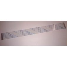 Кабель шлейф плоский FFC/FPC шаг 1 мм 200 мм 20 пин прямой