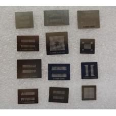 Набор трафаретов прямого нагрева для памяти DDR1 DDR2 DDR3 GDDR5